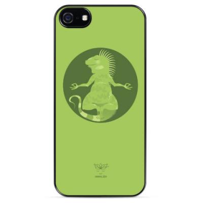 Чехол для iPhone Animal Zen: I is for Iguana