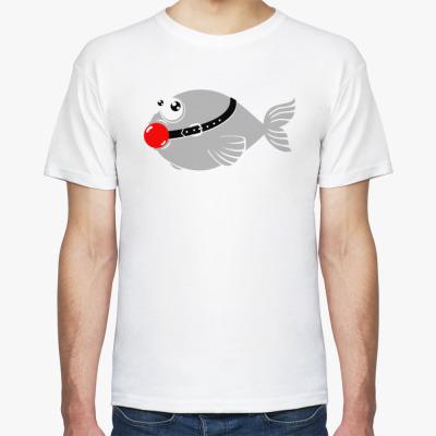 Футболка Тихая рыба