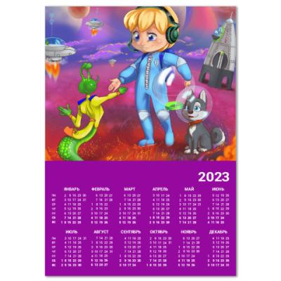 Календарь Контакт