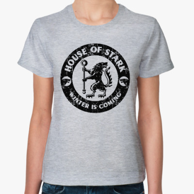 Женская футболка Игра престолов.Старки