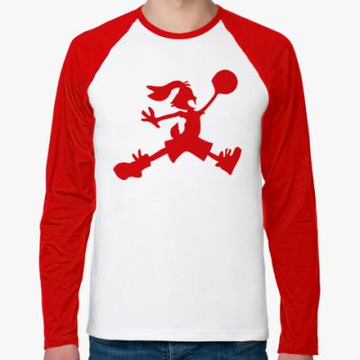 Футболка реглан с длинным рукавом Jordan Bunny