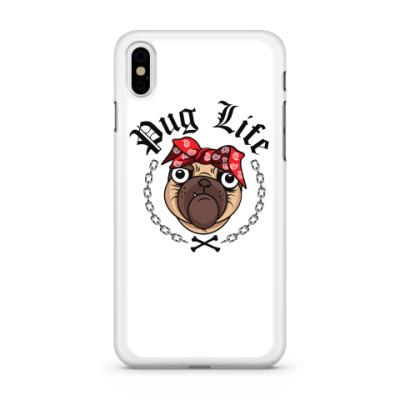 Чехол для iPhone Pug Life
