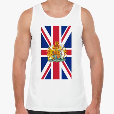 Майка Флаг и герб Великобритании