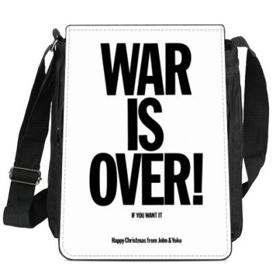 Сумка-планшет  War Is Over