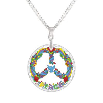 Кулон  Символ мира