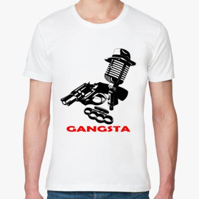 Футболка из органик-хлопка Rap Gangsta