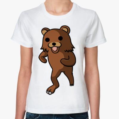 Классическая футболка Pedobear