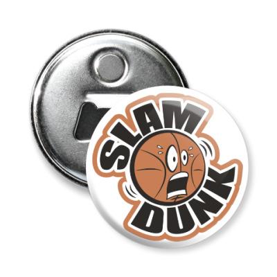 Магнит-открывашка Slam Dunk