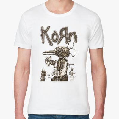 Футболка из органик-хлопка Korn