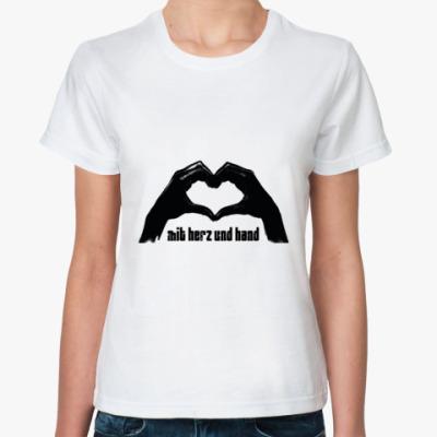 Классическая футболка  Herz (жен.)