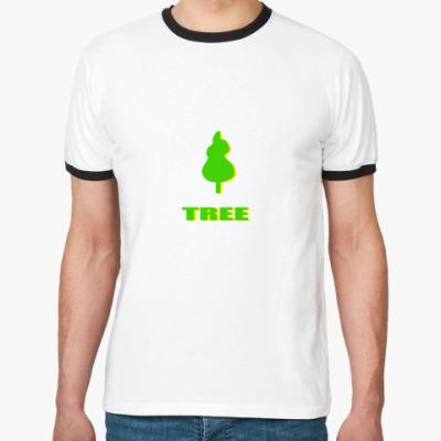 Футболка Ringer-T IDEA TREE