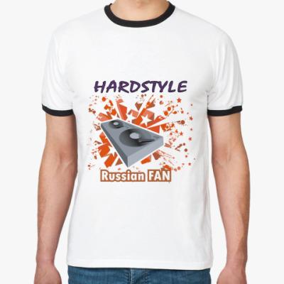 Футболка Ringer-T Hardstyle Fan