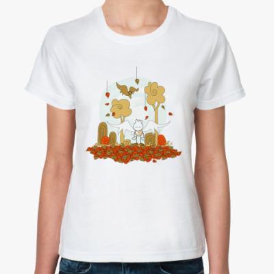 Классическая футболка Осенняя