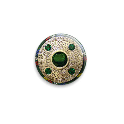 Значок 25мм  'Irish Brooch'