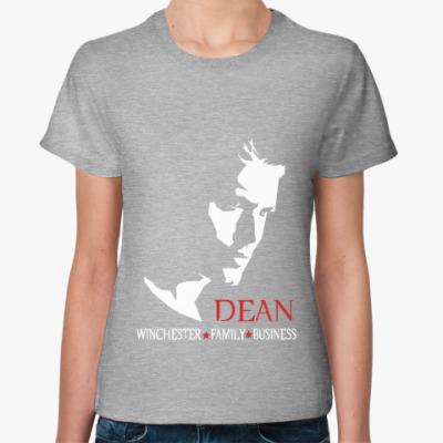 Женская футболка Дин - Supernatural