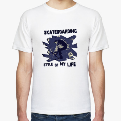 Футболка skateboarding
