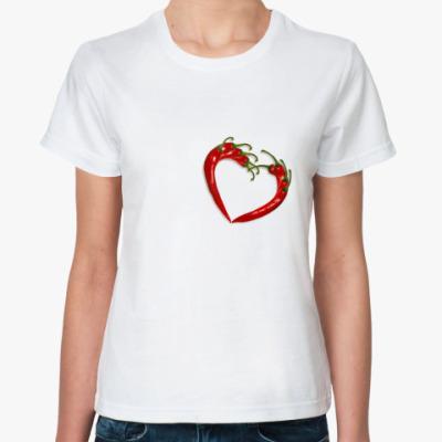 Классическая футболка  Перчик