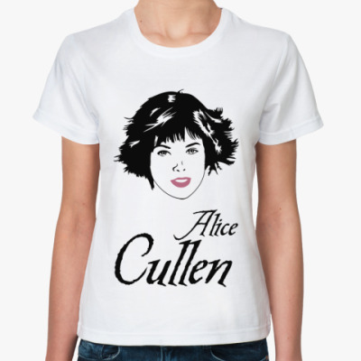 Классическая футболка Alice Cullen