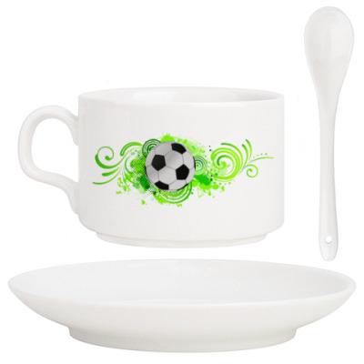 Кофейный набор Футбольный мяч