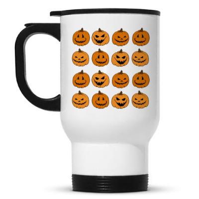 Кружка-термос Pumpkins