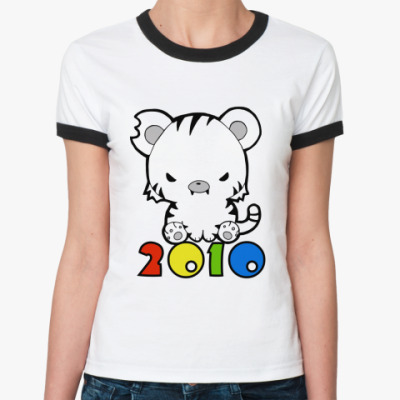 Женская футболка Ringer-T 2010  Ж ()
