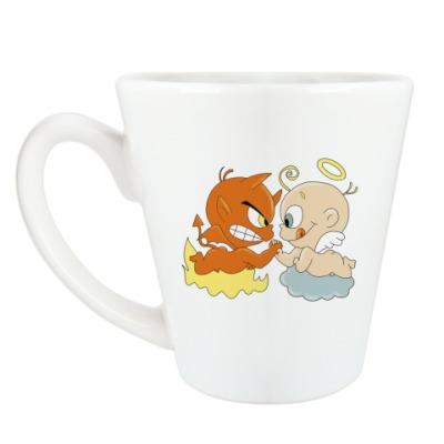 Чашка Латте Армрестлинг