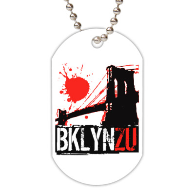 Жетон dog-tag Brooklyn Zu