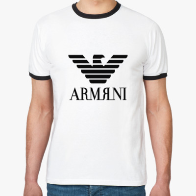Футболка Ringer-T aRmЯni