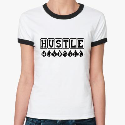 Женская футболка Ringer-T Hustle