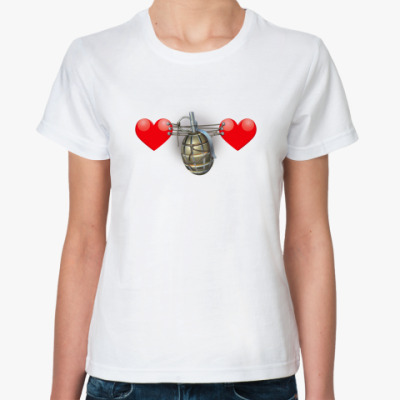 Классическая футболка 'Граната'
