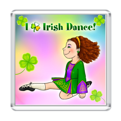 Магнит Irish Dance