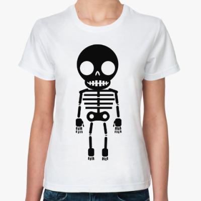 Классическая футболка Скелет