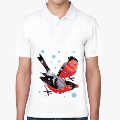 Рубашка поло Снегири