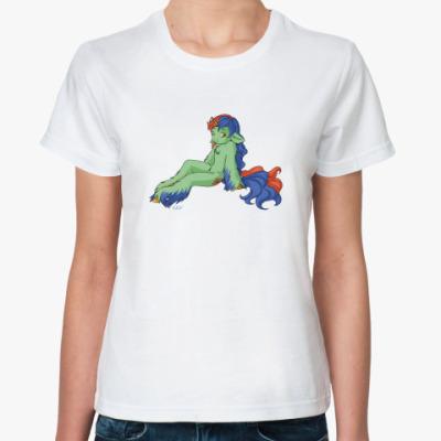 Классическая футболка Единорожек
