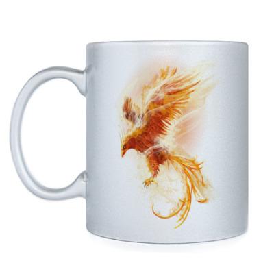 Кружка Птица Феникс Fenix bird