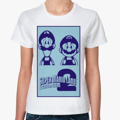 Классическая футболка Super Mario Land