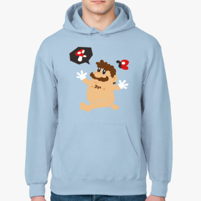 Толстовка худи Супер Марио и грибы