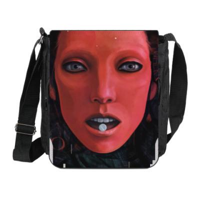 Сумка на плечо (мини-планшет) Atomic Red