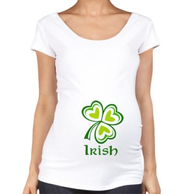 Футболка для беременных Irish