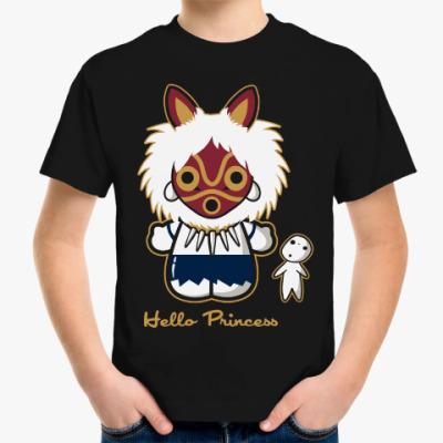 Детская футболка Привет Принцесса