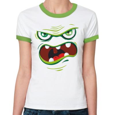 Женская футболка Ringer-T I'm Hungry
