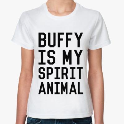 Классическая футболка Баффи