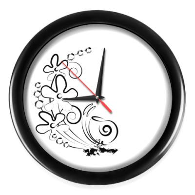 Настенные часы Марафон улитки