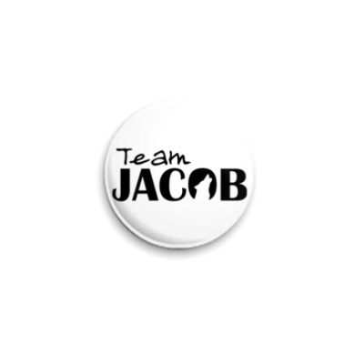 Значок 25мм Team Jacob