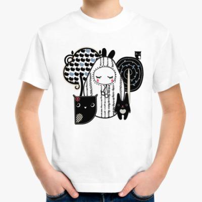 Детская футболка Лесные зверушки