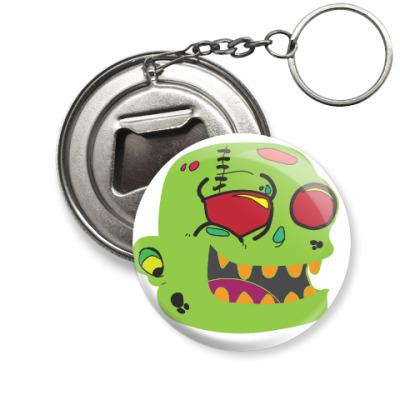Брелок-открывашка  Zombie