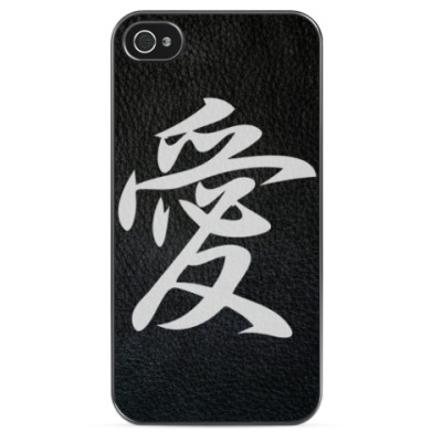 Чехол для iPhone Иероглиф Любовь
