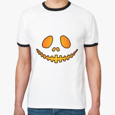 Футболка Ringer-T Helloween Smile