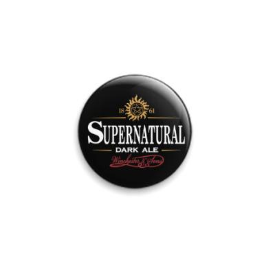 Значок 25мм Supernatural - Темный эль