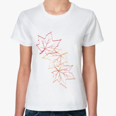 Классическая футболка  Листопад
